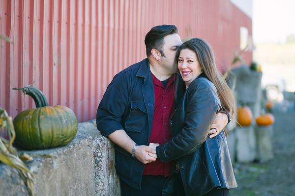John & Michelle | Vancouver Pumpkin Patch