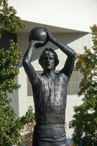 Larry Bird Statue Dedication Ceremony