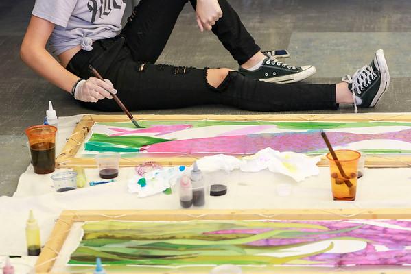 LBHS Silk Painting