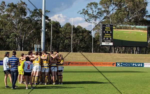 2013 Div 2 Grand Final - Sydney Uni Blues vs Manly