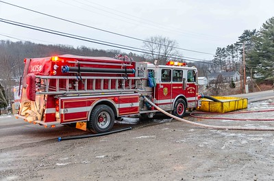 01-19-19 Jackson Twp FD - Garage Fire