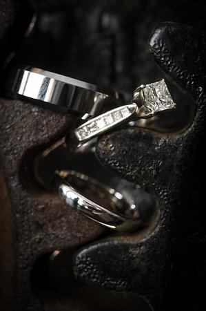 Details: Rings, Dress, Flowers, Etc.