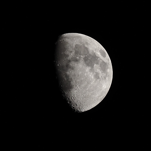 Waxing Gibbous moon 61%