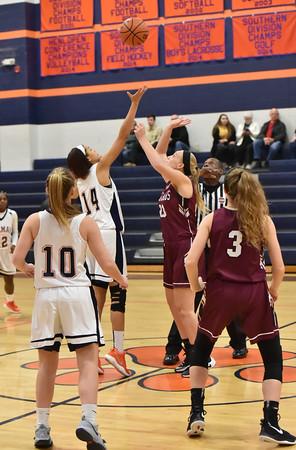 Delmar Varsity Girls Basketball vs Salisbury Christian