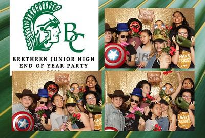 Brethren Christian Junior High Pool Party