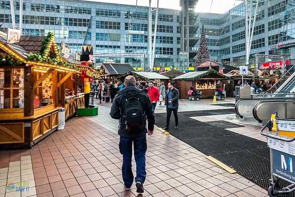 Munich Airport Christmas Market