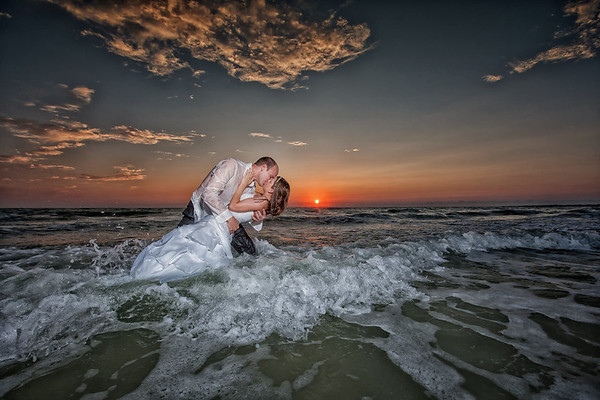 Ashley + Zach Trash the Dress