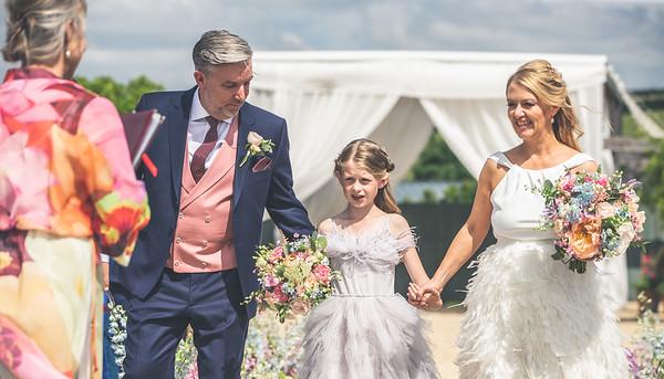 Clare & Rob wedding