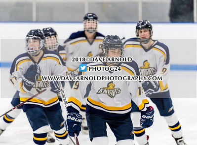 2/28/2018 - Girls Varsity Hockey - D1 Quarterfinal - BB&N vs Nobles