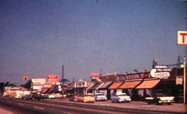 . Dixie Highway, when Frembes Road ended at Dixie Highway