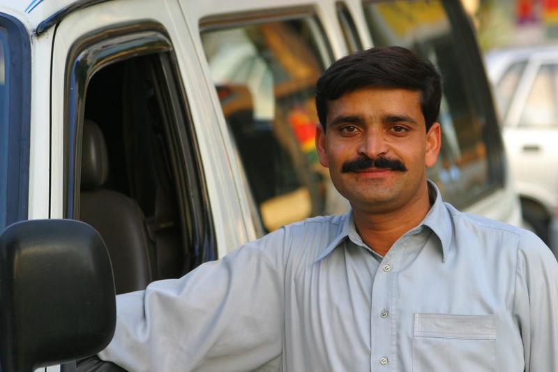 Our van driver