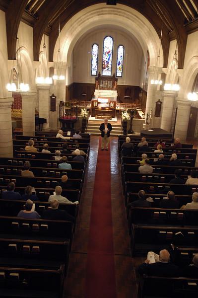 5/21/16: Organ Concert and Reception
