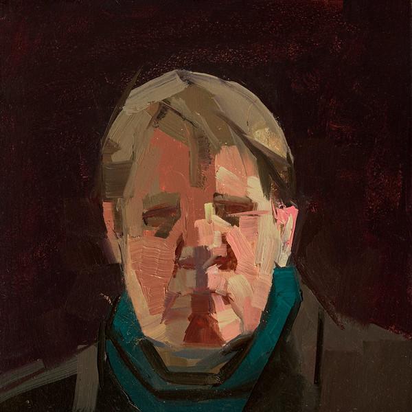 Self-portrait in turtleneck