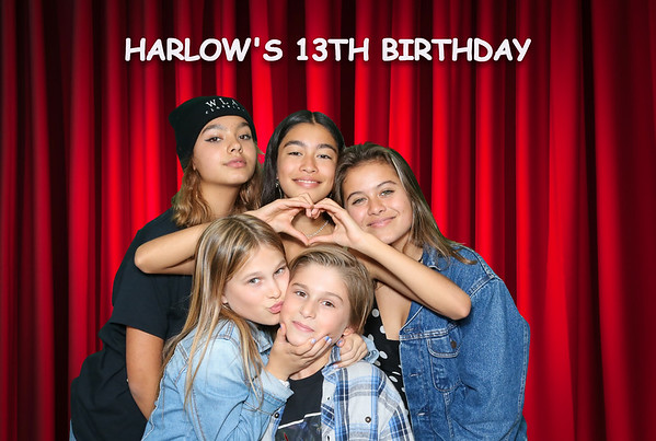 Harlow's 13th Birthday Party