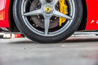 Racing Ferrari day