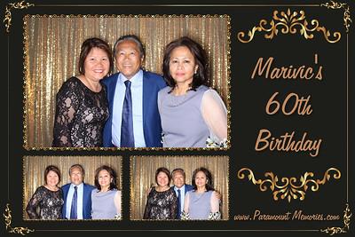 Marivic's 60th Birthday Party