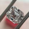 2.39ct Antique Asscher/Square Emerald Cut Diamond, GIA D/IF 5