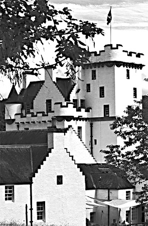 Blair Athol in Black and White