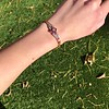 .86ctw Art Deco Ruby and Diamond Link Bracelet 25