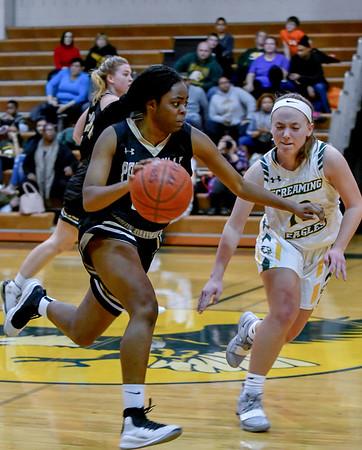 20190118 Girls Varsity Basketball Poolesville at Seneca Valley
