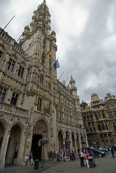 Brussels Town Hall in Belgium