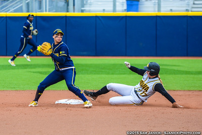 Best of Michigan Softball Vs Iowa Game 3 3-29-15