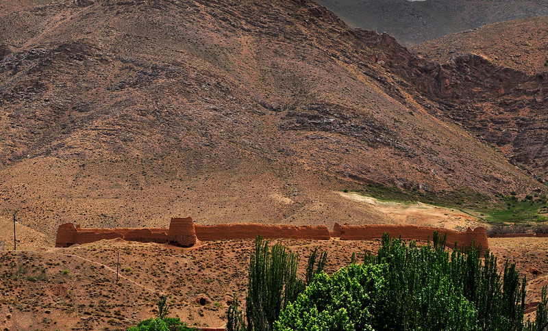 Abandoned Castle, Abyaneh Iran.