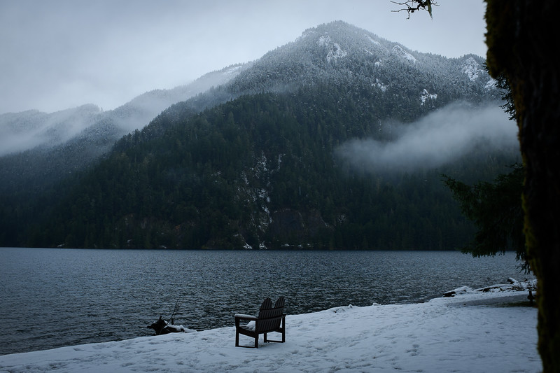 Lake Crescent Lodge, December 2016