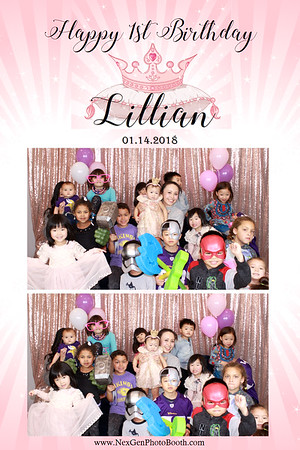 Lillian's 1st Birthday! 1/14/18