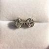 1.73ctw Georgian Peruzzi Cut Diamond Collet Stud Earrings 22