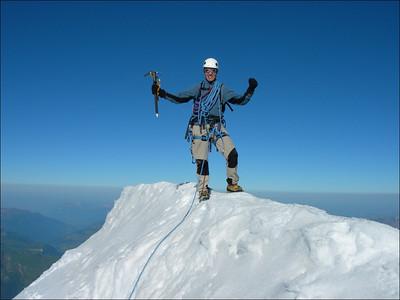 Alps, Mont Blanc massif, 2005