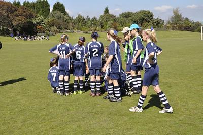 AIMS Girls Football 2009