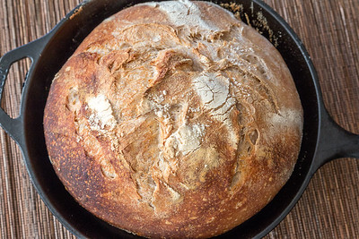 Crusty Sourdough Boule