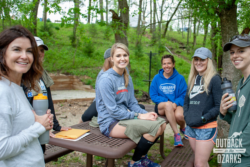 Teams of 4-8 runners set-up campsites at Lake Leatherwood and spent 2 days running a total of 120-ish miles through the mud and water amidst the rugged single track trails.