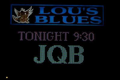 JQB @ Lue's Blues  Melboune, FL January 7, 2012