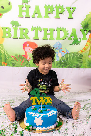 Matias' 2nd Birthday Smash