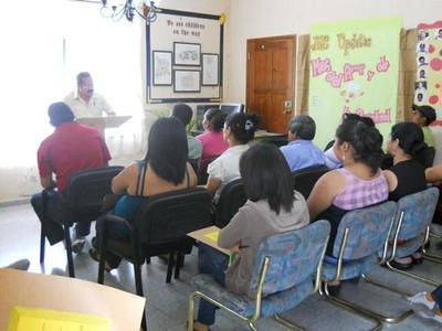 Jovenes en Camino - Staff Training