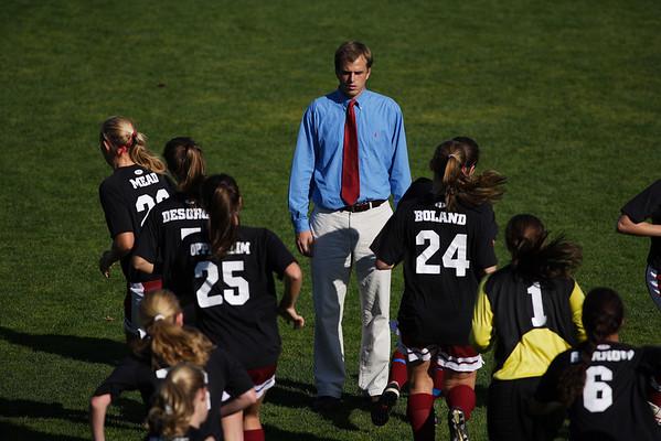 Taft Girls Varsity Soccer10-15-08