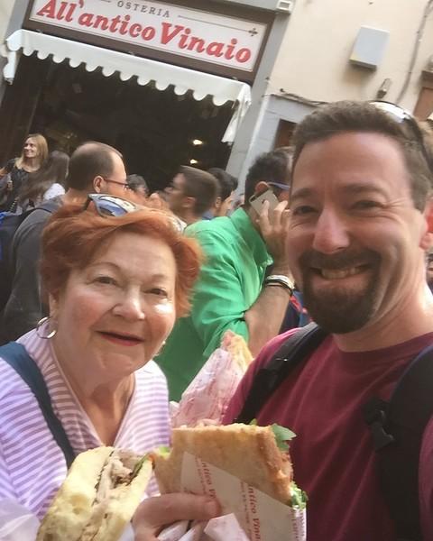 Amazing focaccia sandwiches!