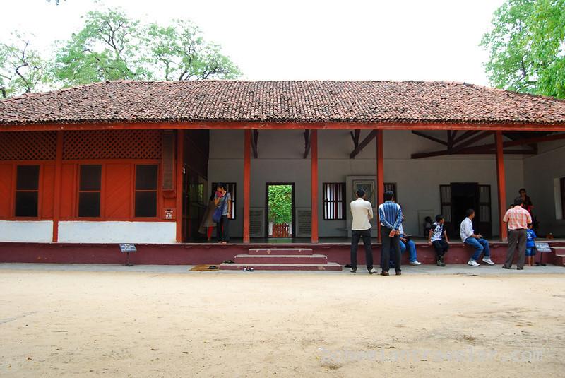 Ghandi's home Ghandi ashram Ahmedabad India.jpg