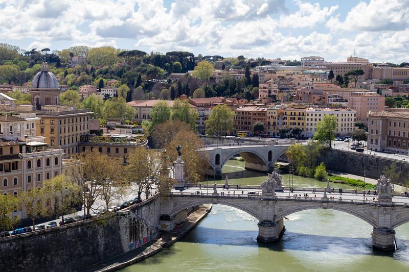 River Tiber from Castel Sant'Angelo