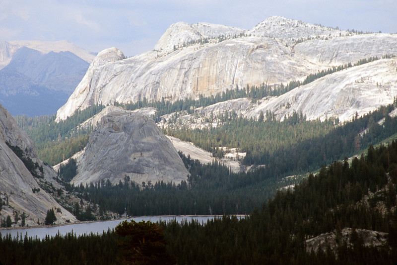 An Eastern View of Yosemite National Park