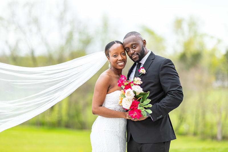 Gloria & Collins | Micro Wedding at The Barn at Willow Brook in Leesburg, VA