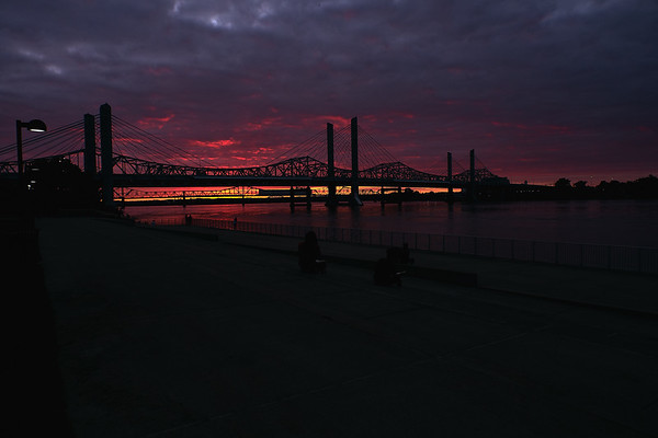 Big Four Bridge Sunsets