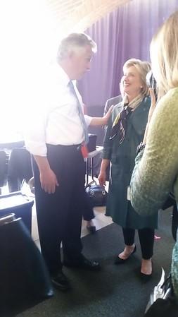 Hillary Clinton in Alexandria