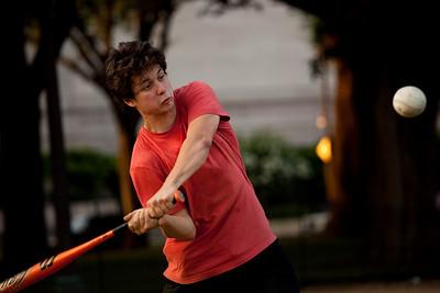 Softball on the Mall 7-28-09
