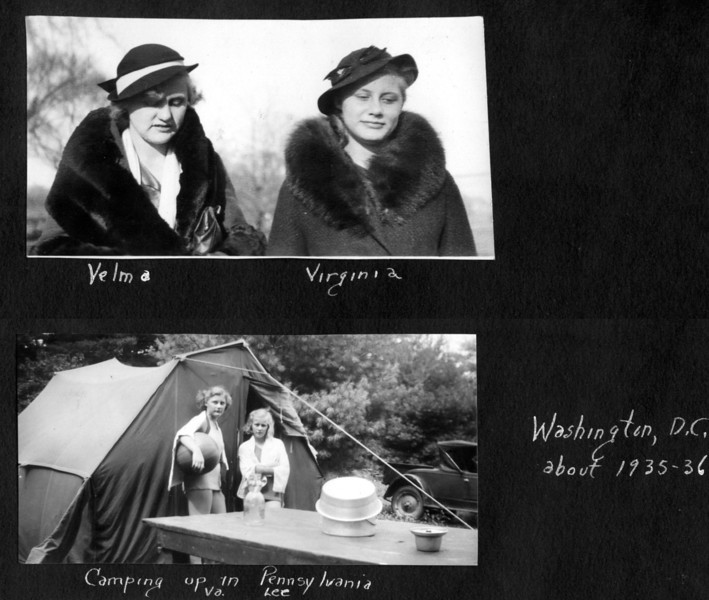 1935-36 WashDC Camping 3pix.jpg