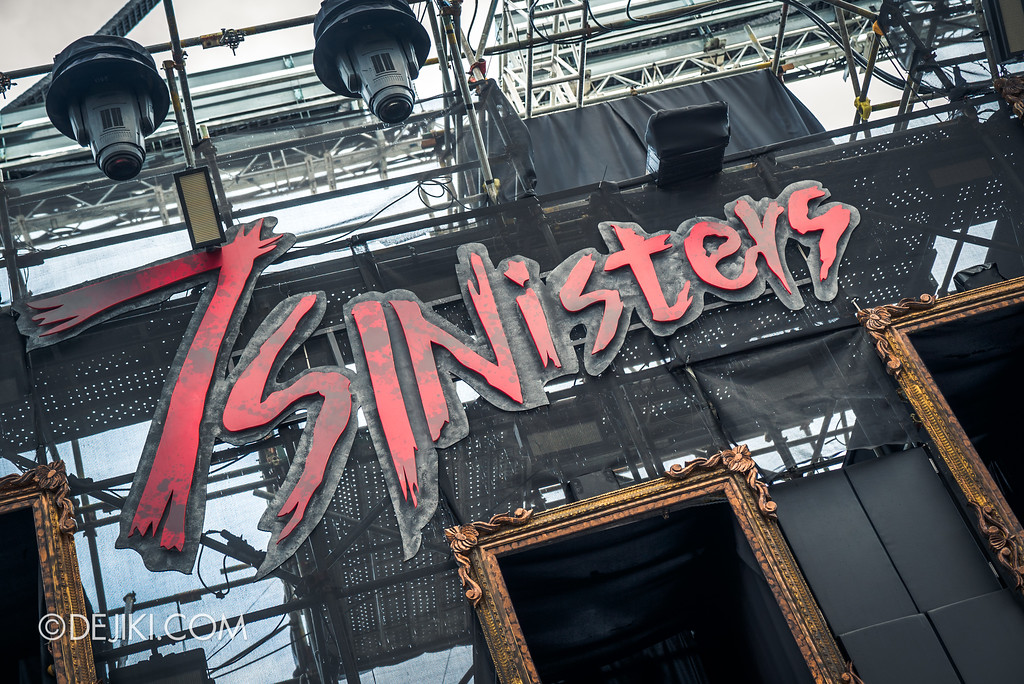 Halloween Horror Nights 7 Preview Construction Update Before Dark 3 - 7SINisters closeup