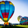 Small ballon festival in Longmont. I had to leave the house at 5am to get here in time. This was on a Sunday so the crowds were smaller