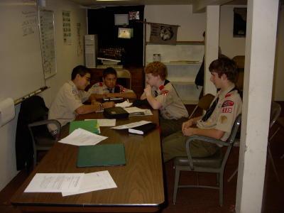 Troop Meeting - Oct 6